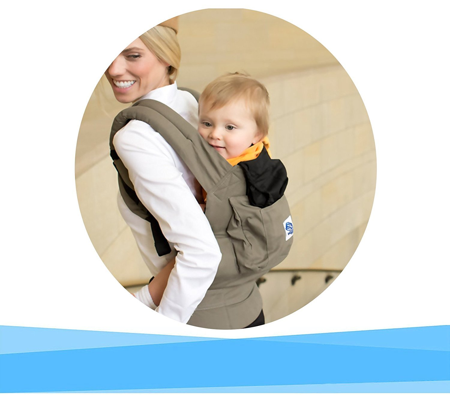 Baby Carrier for carrying your baby Handsfree Baby carrier ergonomically designed Multiple-positions ★ Adapts as your child grows ★ 100/% GUARANTEE and FREE DELIVERY