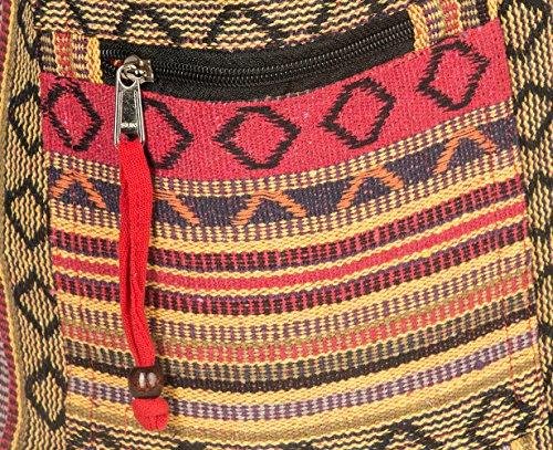 Tribe Azure Red Hobo Messenger Shoulder Bag Large Roomy School Sling Travel Camping Beach Cross body Photo #7