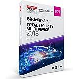 Bitdefender Total Security Multi Device 2018 – 5 Geräte | 1 Jahr / 365 Tage (MAC, Windows, Android & iOS) - Aktivierungscode