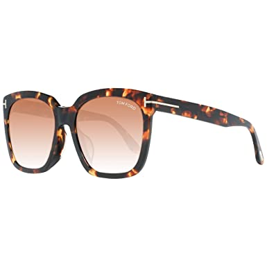 Tom Ford Sonnenbrille FT0502-F 52F 55 Gafas de Sol, Marrón ...