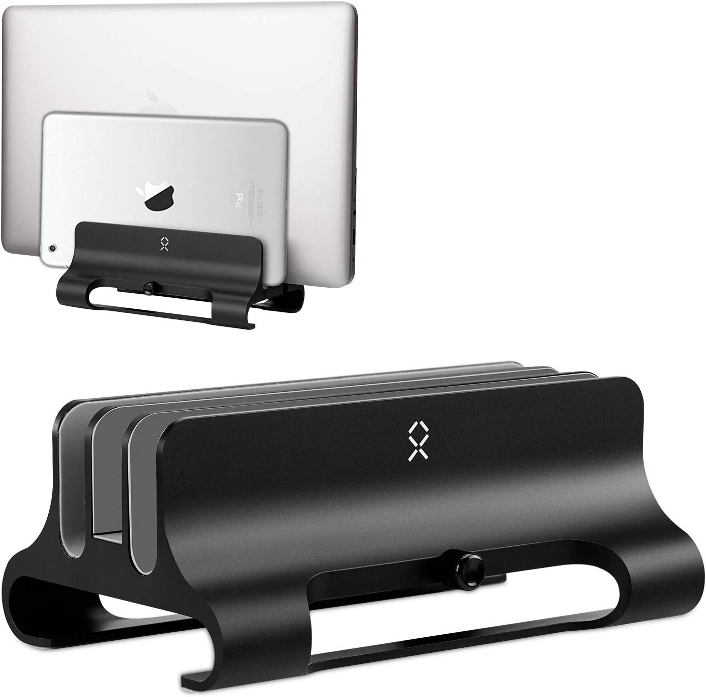Becrowmeu Vertikaler Laptop Ständer Elektronik