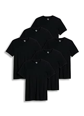 54d981a1a16e7 Amazon.com  Jockey Men s T-Shirts Classic Crew Neck - 6 Pack  Clothing