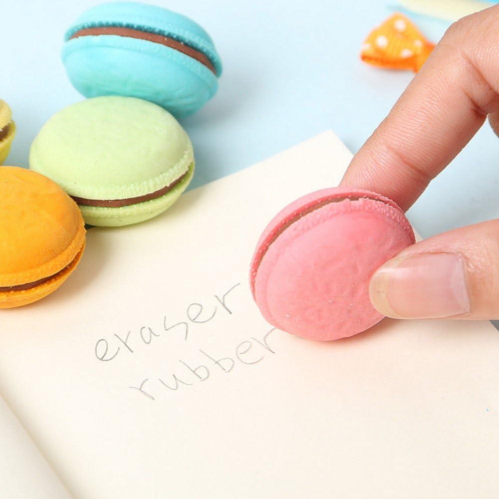 Earaser süßes Schreibwaren Schüler  Pro  nette Macarons Gummi Radiergummi