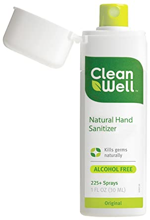 Cleanwell Hand Sanitizer Spray 1 Ounce Amazon Co Uk Business