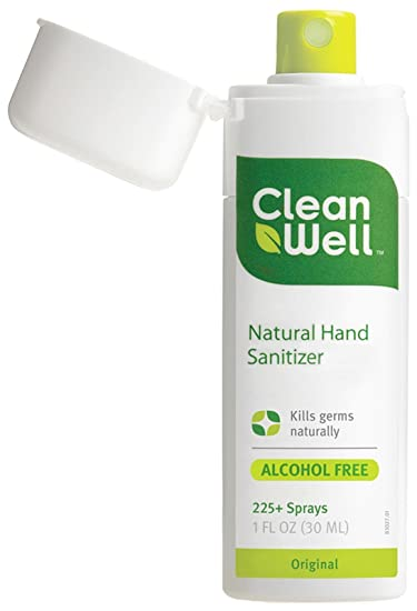Buy Cleanwell Natural Hand Sanitizer Spray Original 1 Oz