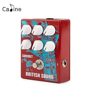Amazon.com: Caline Pedales de efecto de guitarra eléctrica ...