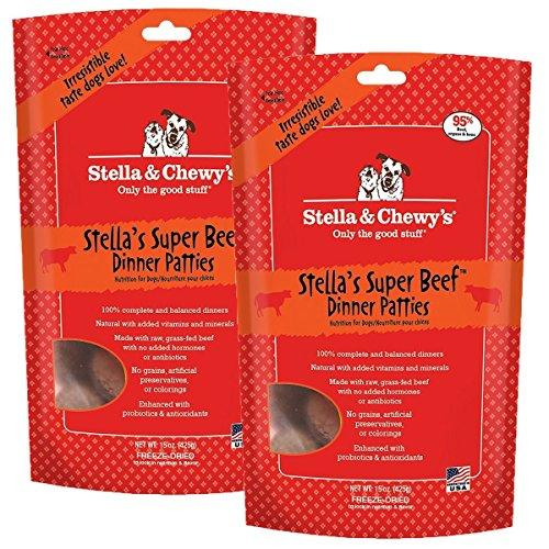 Stella & Chewys Freeze-Dried Raw Chewys BeefDinner Patties Dog Food