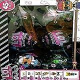 lol  surprise  glitter series black pack of - 6