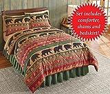 Northwoods Bear Walk Bedroom Comforter Set