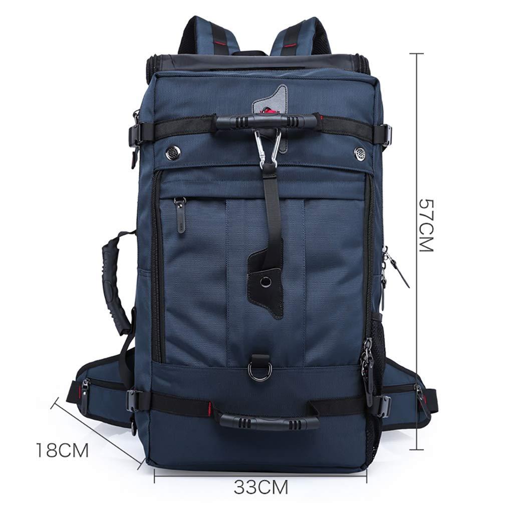 バックパック、旅行のバックパック、アウトドアスポーツに最適、ハイキング、キャンプ旅行、登山、50 L (色 : B) B07P3HDCCV B