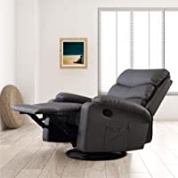 Levede Massage Chair Recliner Chairs Heated Lounge Sofa Armchair 360 Swivel