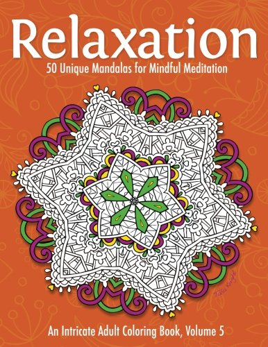 Relaxation Mandalas Meditation Intricate Coloring product image