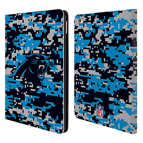 Official NFL Digital Camouflage 2018/19 Carolina Panthers Leather Book Wallet Case Cover for iPad Air 2 (2014)