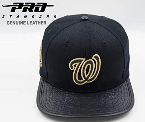 Pro Standard Washington Nationals Gorra de Piel de Grano Completo ...
