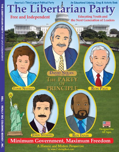 Download The Libertarian Party Coloring and Activity Book PDF