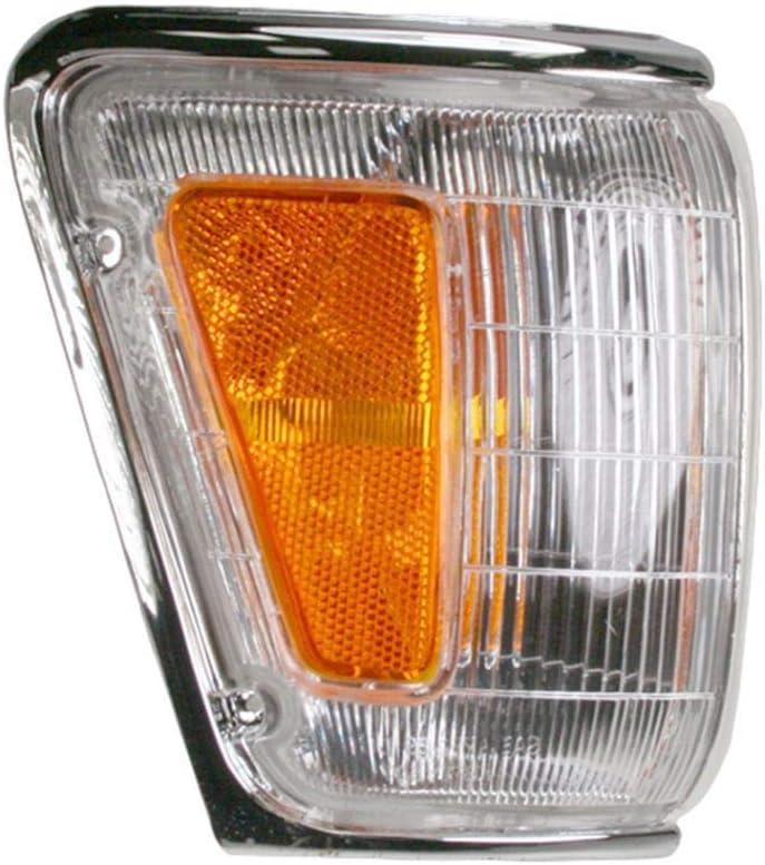 CHROME Marker Corner Parking Light Pair Set for 90-91 4Runner Pickup Truck