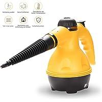 wolketon electrodomésticos Limpiador de vapor portátil, limpiador