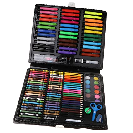 IPOTCH Kit de Materiales Artísticos para Dibujos Pinturas ...