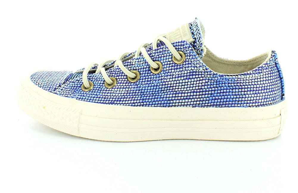 Converse All Star Ox Ox Ox Damen Turnschuhe Blau eaa9dd
