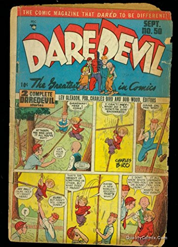 Daredevil Comics #50 GD- 1.8