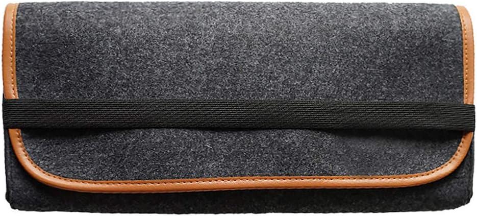 Lumpur M/écanique Clavier Sac Accessoires Stockage Portable Grande Capacit/é Pratique Feutre Tissu Bande /Élastique Poche Durable Protection Flip Cover Organizer Anti-Poussi/ère 60 cl/és