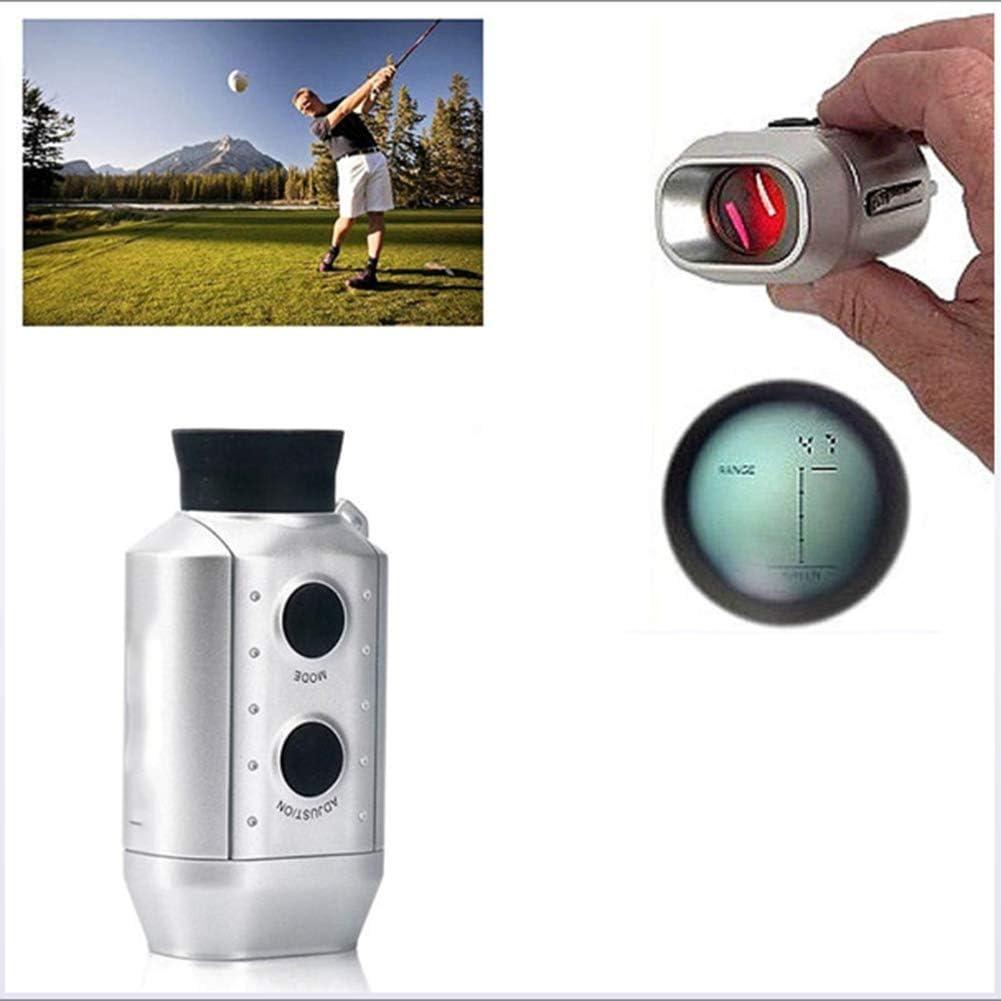 ZXCV Telémetro monocular 7X18 Telescopio óptico Digital Telémetro láser Alcance del Campo de Golf Yardas Medir Distancia al Aire Libre