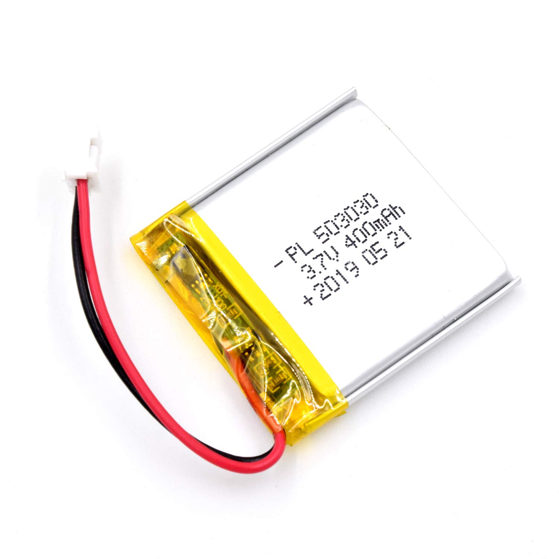 Bateria Lipo 3.7V 400mAh 503030 Recargable JST Conector