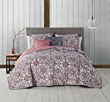 Avondale Manor Regan 5-Piece Quilt Set, King, Spice