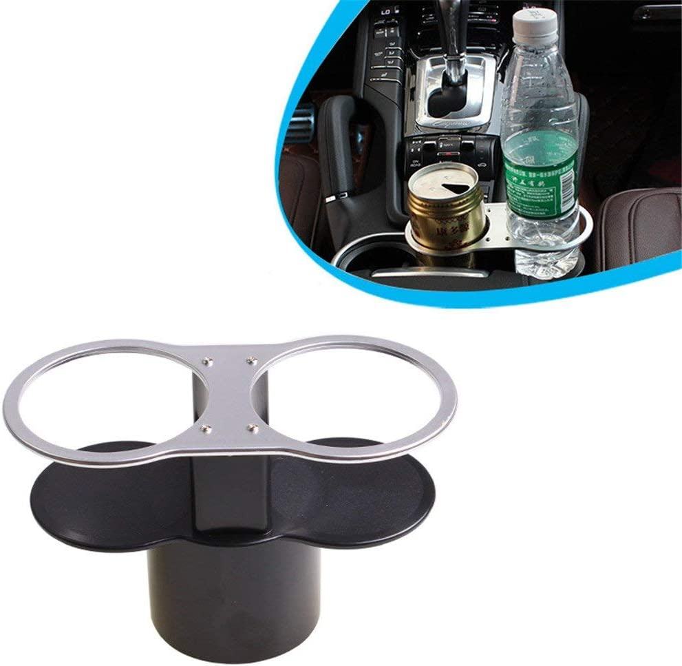 Car Drink Cup Holder Multifunctional Double Hole Car Seat Side Drink Holders Drink Bottle Holder Phone Holder Stand Creative and Useful