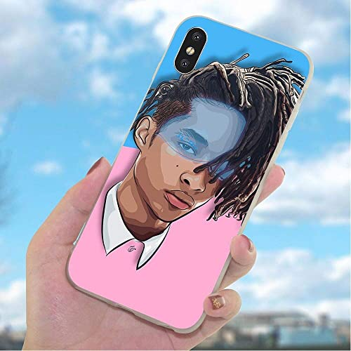 33045864820 Inspired by jaden smith Phone Case Compatible With Iphone 7 XR 6s Plus 6 X 8 9 Cases XS Max Clear Iphones Cases High Quality TPU Dragon Ball Just Tapes- Action Figure
