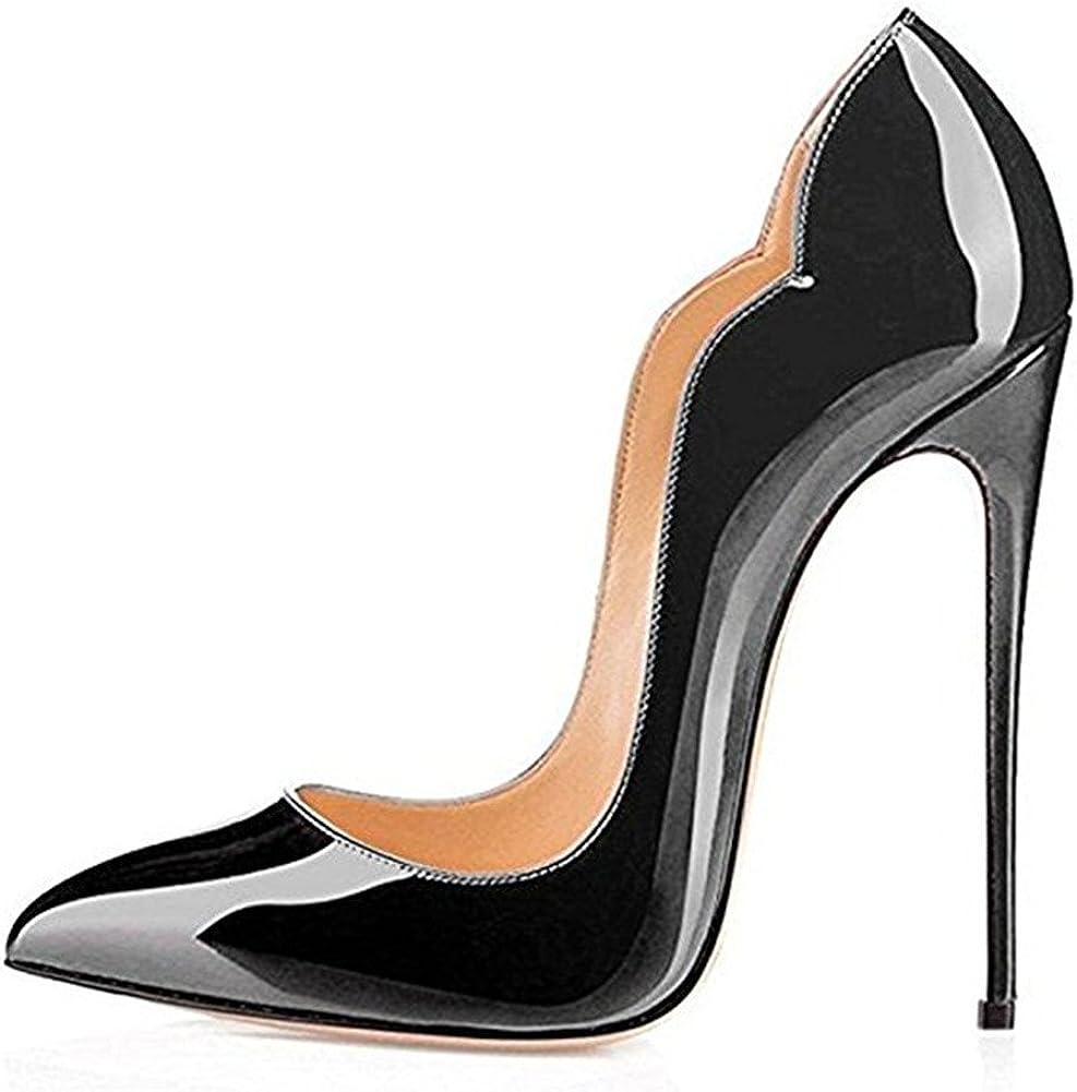 TALLA 38.5 EU. Zapatos de Tacón - Clásicas Tacones Altos - Boda Wedding Cerrado Mujer