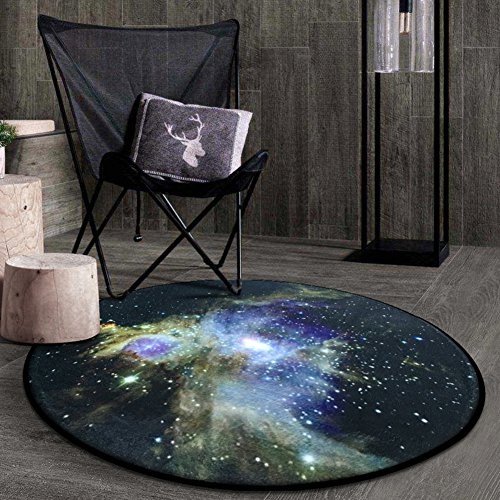 KELE 3d creative,Stilvoll,Round,Carpet Bedroom,Living room,Bedside,Room,Hanging basket round bblanket-D diameter120cm(47inch)