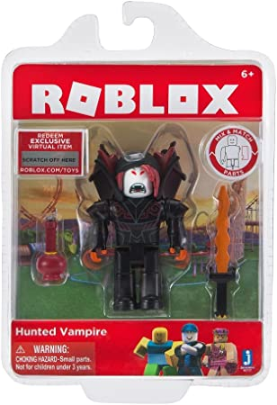 Vampire Love And Roblox Amazon Com Roblox Action Collection Hunted Vampire Figure Pack