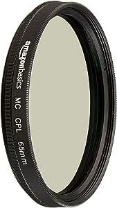 AmazonBasics Circular Polarizer Lens, 55 mm