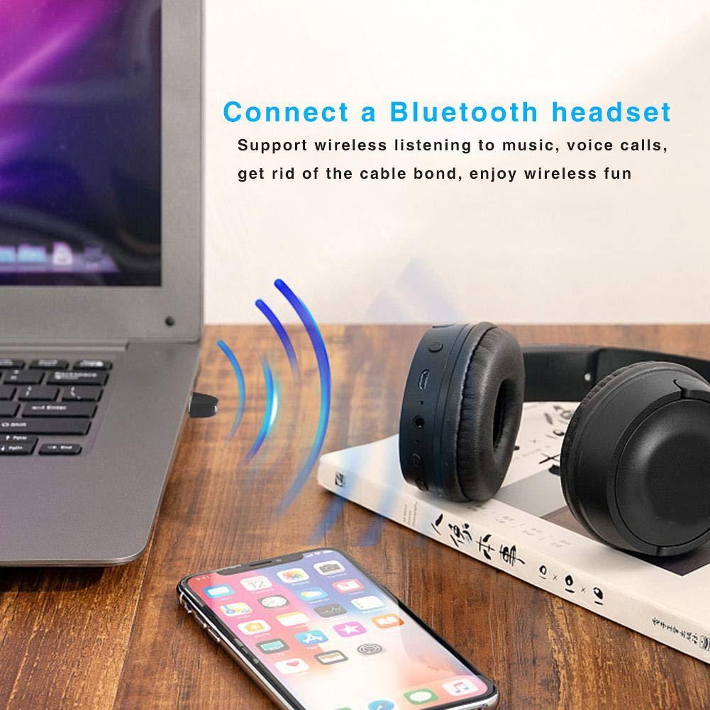 Kompatibel mit Bluetooth 4.1//4.2//5.0 Ger/äten Musik Audio Receiver mit Plug and Play Keine Notwendigkeit zu Fahren USB Bluetooth 5.0 Adapter