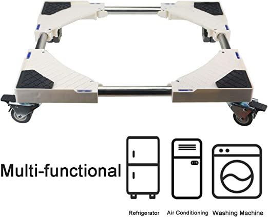 Dryer and Refrigerator 8 Wheels Multi-Functional Movable Base Furniture Dolly Size Adjustable for Washing Machine