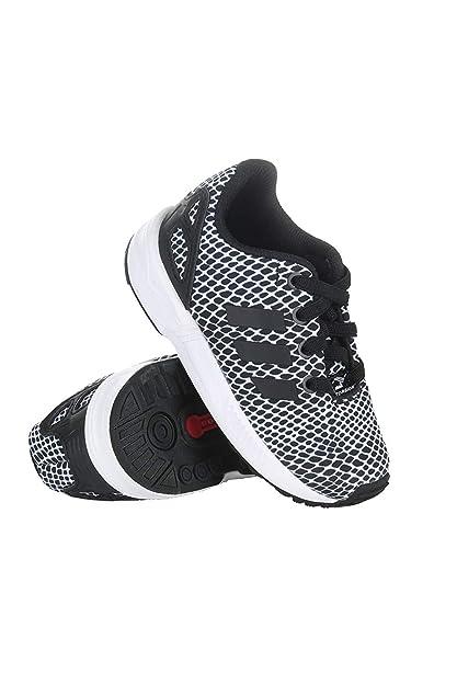 b728ad6787e9 Amazon.com  adidas Infants Originals ZX Flux EL Shoes  S82614 ...