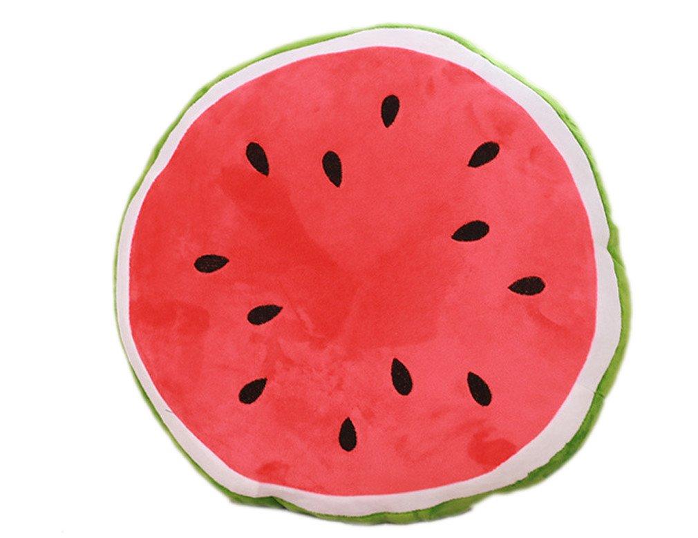 XueXian(TM) Kissen Wassermelonen Obst Plü sch Dekokissen(Dreieckig, 30 cm)