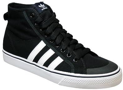 adidas Originals Nizza Hi, Schwarz Weiß Größe: 36: Amazon