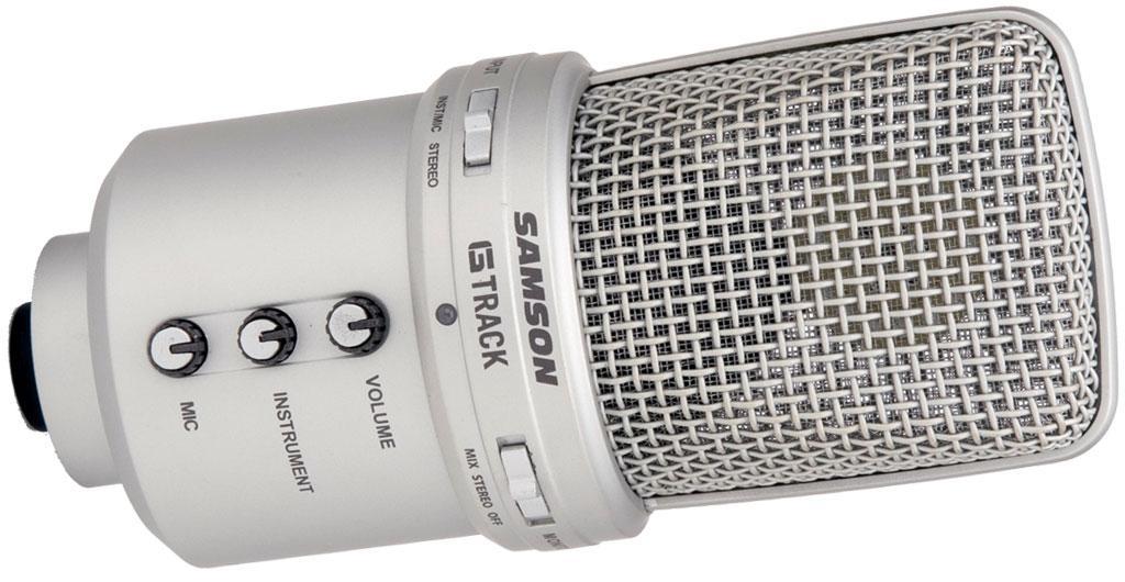 Amazon Com Samson G Track Usb Condenser Microphone With