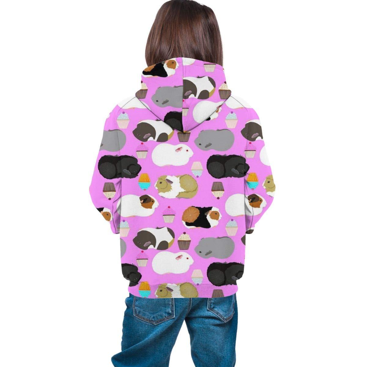 Boys /& Girls Long Sleeves Hoodie Hooded Sweatshirt Fit Tracksuits