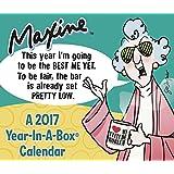 MAXINE  Year-In-A-Box Calendar (2017)