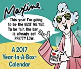 MAXINE  Year-In-A-Box Calendar (2017)