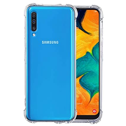 ecad1035d8 VALUEACTIVE Transparent Protective and Shockproof Back Cover for Samsung  Galaxy A50