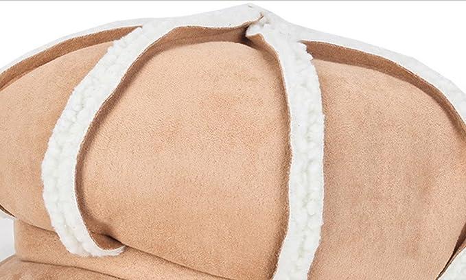 Idopy Gorras planas cálidas de invierno para mujeres Gorra de niño ...