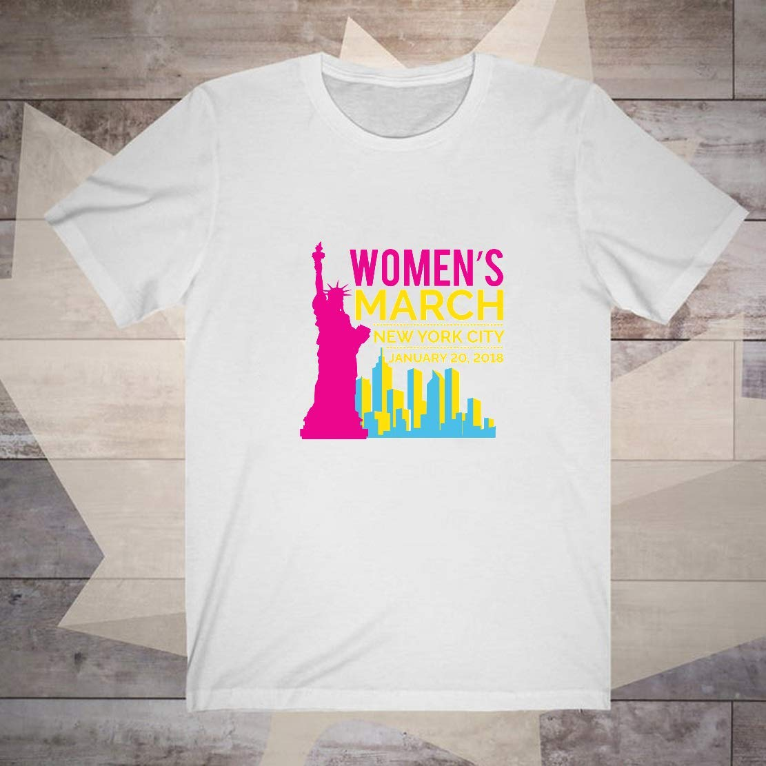March Nyc January 20 2018 Durable T Shirts To Go To Movie Parties And The Whole Year