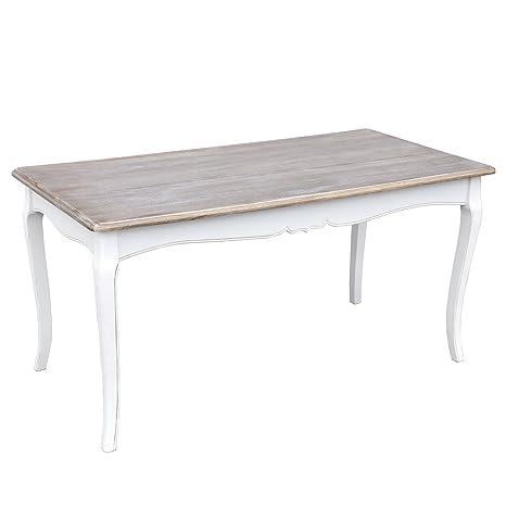 Tavolo Bianco Vintage.Donregaloweb Tavolo Da Pranzo Vintage In Legno E Mdf