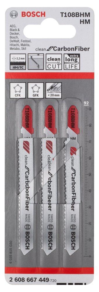 Bosch Professional 2608667449 T 108 BHM Jigsaw Blade