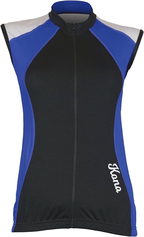 Full Zipper KONA Mens Triathlon Vest Jersey Top 2 Rear Pockets for Storage Tri Singlet Sleeveless