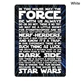 in This House We Do Star Wars Tin Sign Metal Sign TIN Sign 7.8X11.8 INCH